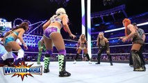 Naomi vs Alexa Bliss vs Carmella vs Mickie James vs Natalya vs Becky Lynch - Six-pack challenge for the WWE SmackDown Women's Championship - WrestleMania 33 - WWE