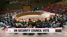 UN Security Council to vote Saturday on new North Korea sanctions