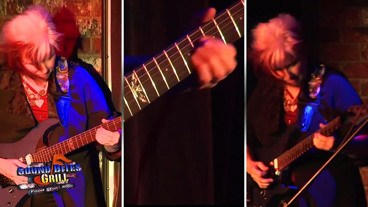 Jennifer Batten 22 Ultimate Guitar Licks Live at Sound Bites Grill Sedona AZ