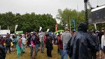 La pluie ouvre le bal au Ronquières Festival