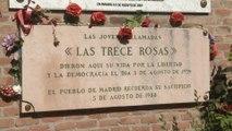 Se cumplen 78 años del fusilamiento de las Trece Rosas
