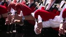 Concours des bagadoù. 1ère catégorie : la grande lutte bretonne