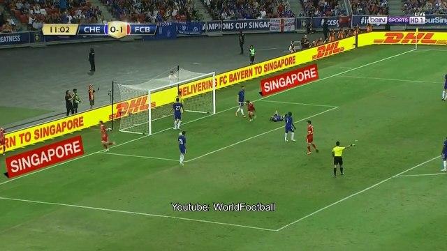 Bayern Munich vs Chelsea 3-2 _ All Goals _ International Champions Cup 2017