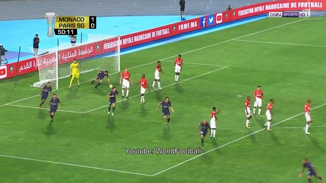 Dani Alves Goal _ PSG 2-1 Monaco _ French Super Cup 2017
