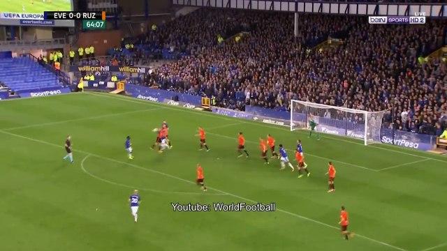 Everton vs Ruzomberok 1-0 _ Leighton Baines Goal _ UEFA Europa League 2017_2018