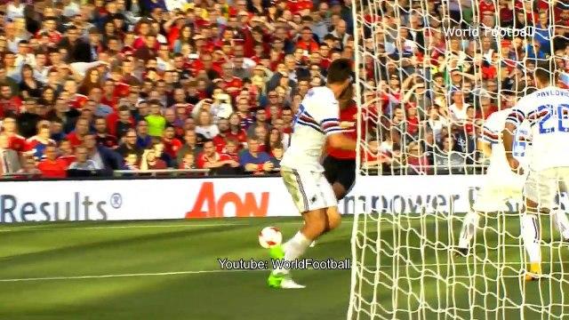 Manchester United vs Sampdoria 2-1 _ Extended Highlights & All Goals _ Friendly