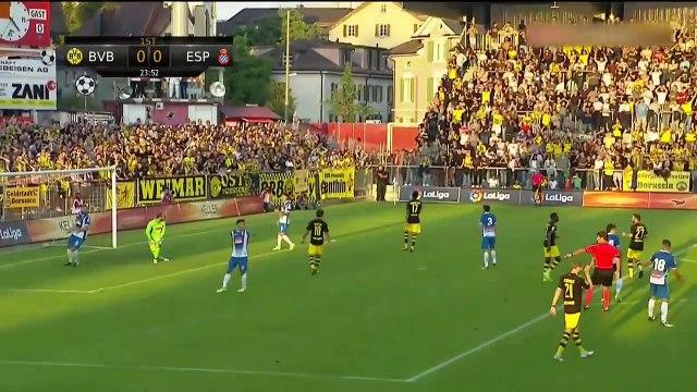 Borussia Dortmund vs Espanyol 0-1 All Goals & Highlights HD 28.07.2017 Friendly