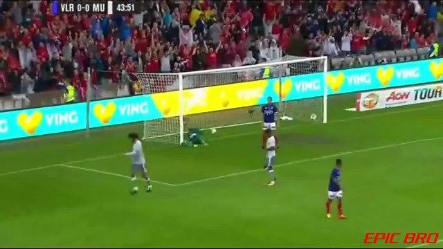 Fellaini Goal Valerenga vs Manchester United 0-1 Friendly 30.07.2017 HD