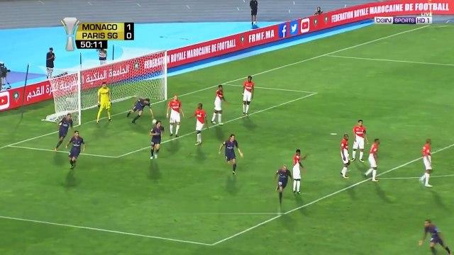 Dani Alves Amaizing Freekick Goal PSG vs Monaco Super Cup 29.07.2017