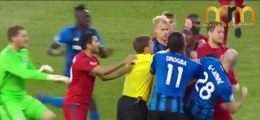 2017 Craziest Football Fights, Fouls, Brutal Tackle, Knockouts & Red Cards