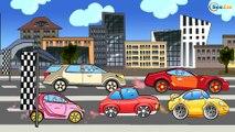 ✔ Coches de carreras. Camión. Grúa. Caricaturas de carros. Carritos Para Niños. Tiki Taki Carros ✔