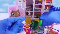 Et bébé bulle cuisine distributeur poupées guppys de la glace masques réfrigérateur avec pj Pororo Pret