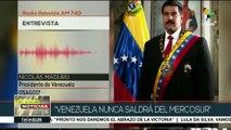 Nicolás Maduro: Venezuela ha cumplido todos los acuerdos del Mercosurs