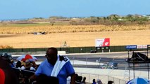 Barbade bloc formule équipement vivre sommet contre Ken lewis hamilton 1 rallycross