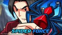 Merveille masqué parodie cavalier homme araignée super-héros contre lhomme fourmi