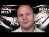 Fedor Talks About His KO over Randy Couture in EA's MMA Game