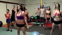Workout aerobics, Yoga exercise CARDIO TRAINING, Gym workouts Fit Girls Training Fitness S