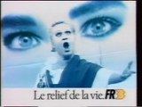 """FR3 - 22 Novembre 1988 - Fin """"Soir 3"""", météo, pubs, teasers, générique """"Studio 3"""""""
