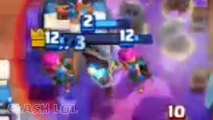 Clash Royale Funny Moments Part 25  Clash LOL Funny Montages, Glitches, Trolls