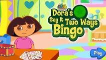 ❤ DORA la Exploradora BINGO AVENTURA Español Inglés ❤ Dora the Explorer GAMEPLAY