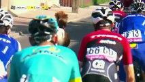 Un intrus au milieu des coureurs du Tour de Pologne