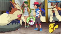 Ashs Pants Get Happily Pulled Down In Front of Mallow! Pokémon Sun & Moon Anime [English