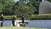 Le Japon commémore les 72 ans du bombardement atomique d'Hiroshima, le 6 août 1945