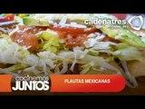 FLAUTAS MEXICANAS ¿Cómo preparar FLAUTAS MEXICANAS? / Receta de comidas mexicanas