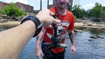 Found 3 GoPros, iPhone, Gun and Knives Underwater in River! Best River Treasure Finds of 2