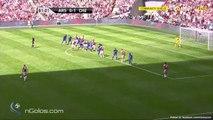 Sead Kolasinac Goal HD - Arsenal 1-1 Chelsea 06.08.2017 FA Community Shield (720 HD)