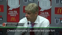 "Community Shield - Wenger : ""Lacazette est de plus en plus fort"""