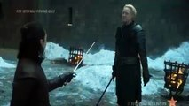 Arya Stark with Brienne of Tarth battle -Game of Thrones season 7 episode 4 The Spoils of War -