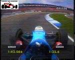 GP Germania, Hockenheim 1997 Pole Position Gerhard Berger