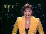 """TF1 - 1er Janvier 1990 - Speakerine (Denise Fabre), pubs, teaser, début """"Les 90 rugissants"""""""