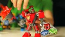Chevaliers tous les lego chevaliers NEXO armure bataille 2017 des Forces de combo dexamen