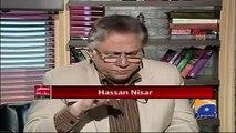 Hai Koi Hakumat Jo Musharraf Ko Rok Sakay? Rok Sako Tu Rok Lo- Hassan Nisar