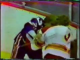 Islanders Flames Line Brawl Oct 27, 1978