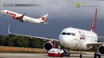 Pesawat Lion Air dan Wings Air tabrakan di bandara Medan - TomoNews