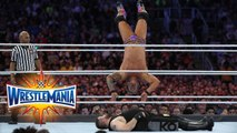 Chris Jericho vs Kevin Owens - Singles match for the WWE United States Championship - WrestleMania 33 - WWE