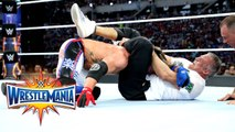 AJ Styles vs Shane McMahon - Singles match for the WWE United States Championship - WrestleMania 33 - WWE