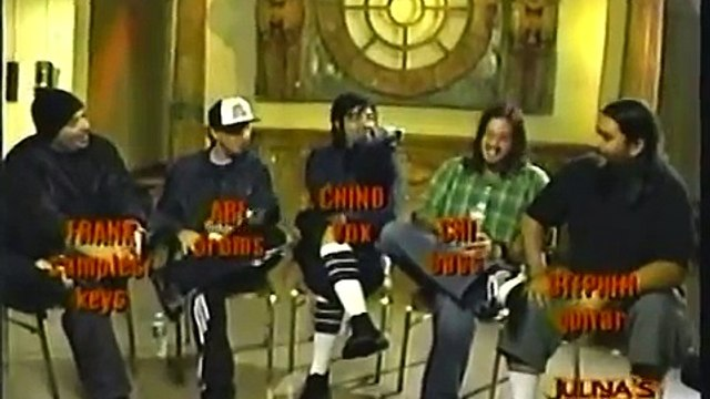 Deftones Uranium Fuse TV Interview (November, 2003)
