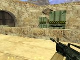 Counter-Strike v1.6 gameplay with Hard bots - Dust 2 - Counter-Terrorist (Old - 2014)
