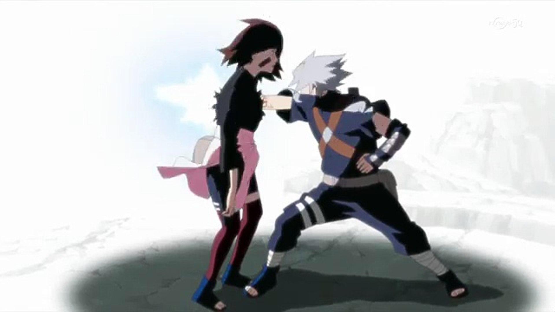 Naruto カカシ オビト 万華鏡写輪眼開眼の瞬間 Video Dailymotion