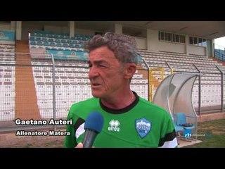Primo allenamento del Matera calcio allo stadio XXI settembre.