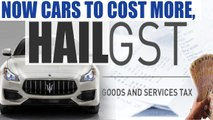 GST on motor vehicles increased; SUVs, luxury cars to cost more | Oneindia News