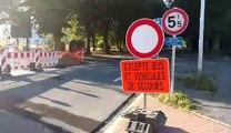 Tournai: chantier de Marvis, les voitures prennent le sens interdit