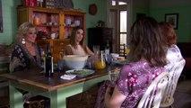 LEAH DIVULGES-Maggie asks Leah what her history is    Leah divulges