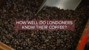 How do Londoners take their coffee?