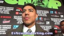 JESSIE VARGAS REVEALS WHAT ERIK MORALES TOLD HIM ABOUT MANNY PACQUIAO EsNews Boxing