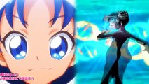 Kirakira☆Precure & Tokyo Mew Mew - Cure Gelato vs Mew Mint Transformation!